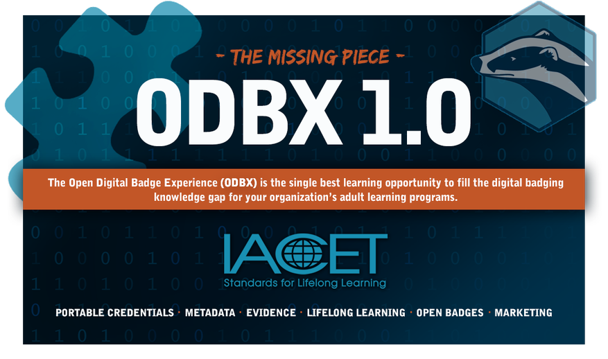 IACET's Open Digital Badge Xperience 1.0