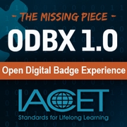 IACET's Open Digital Badge Xperience 1.0 Image