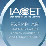 IACET Announces 2019 Awards for Outstanding Continuing Education and Training Programs Image
